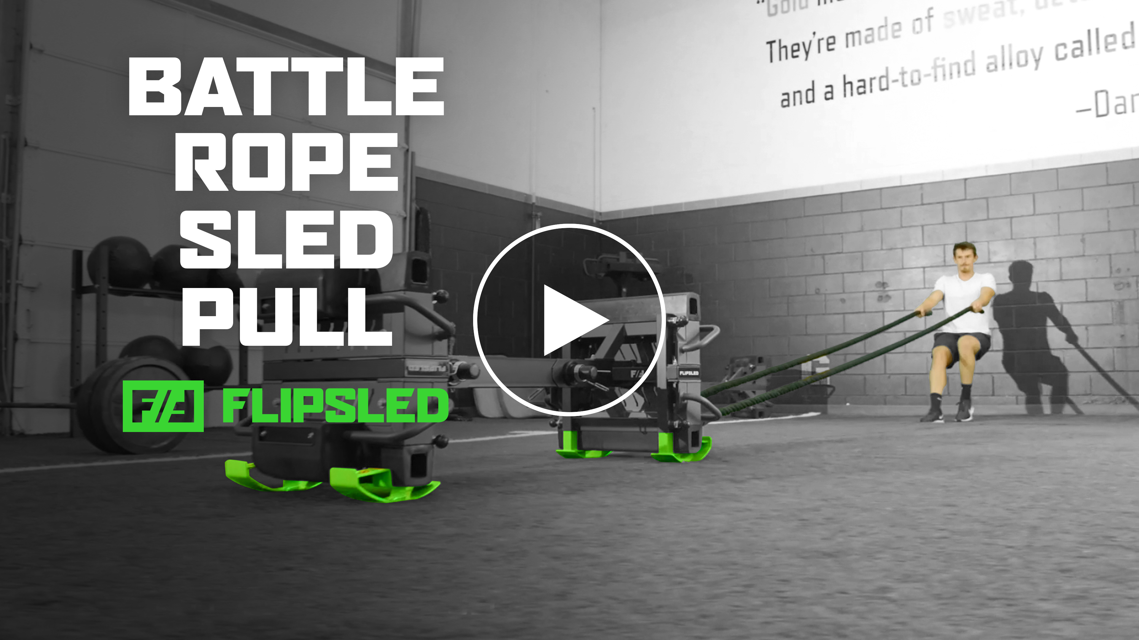 Move of the Week: Battle Rope Sled Pull