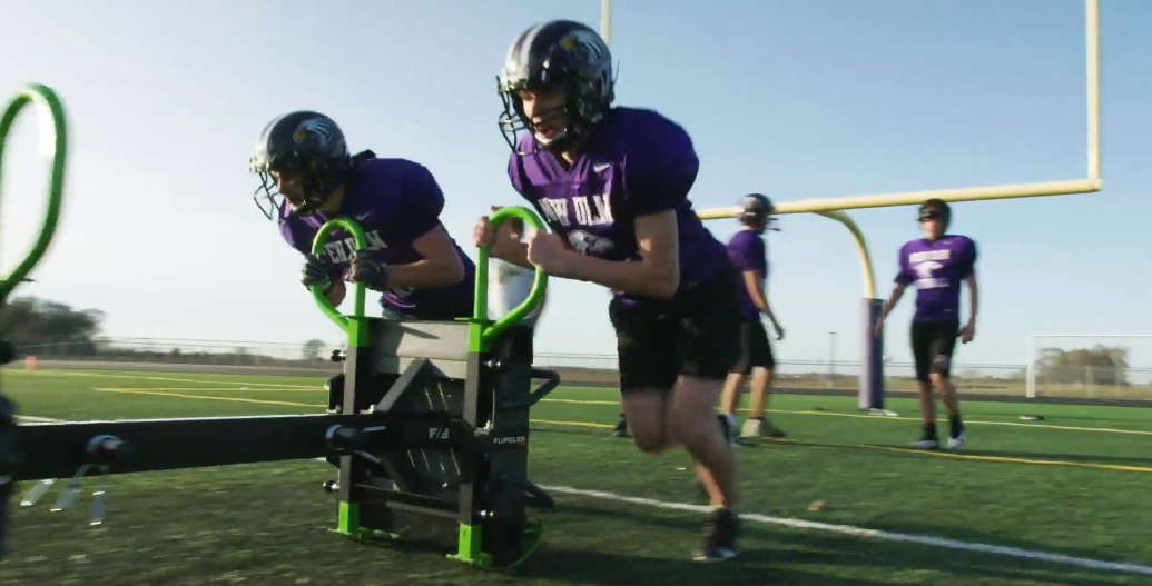 FlipSled - New Ulm High School Football Team Workout