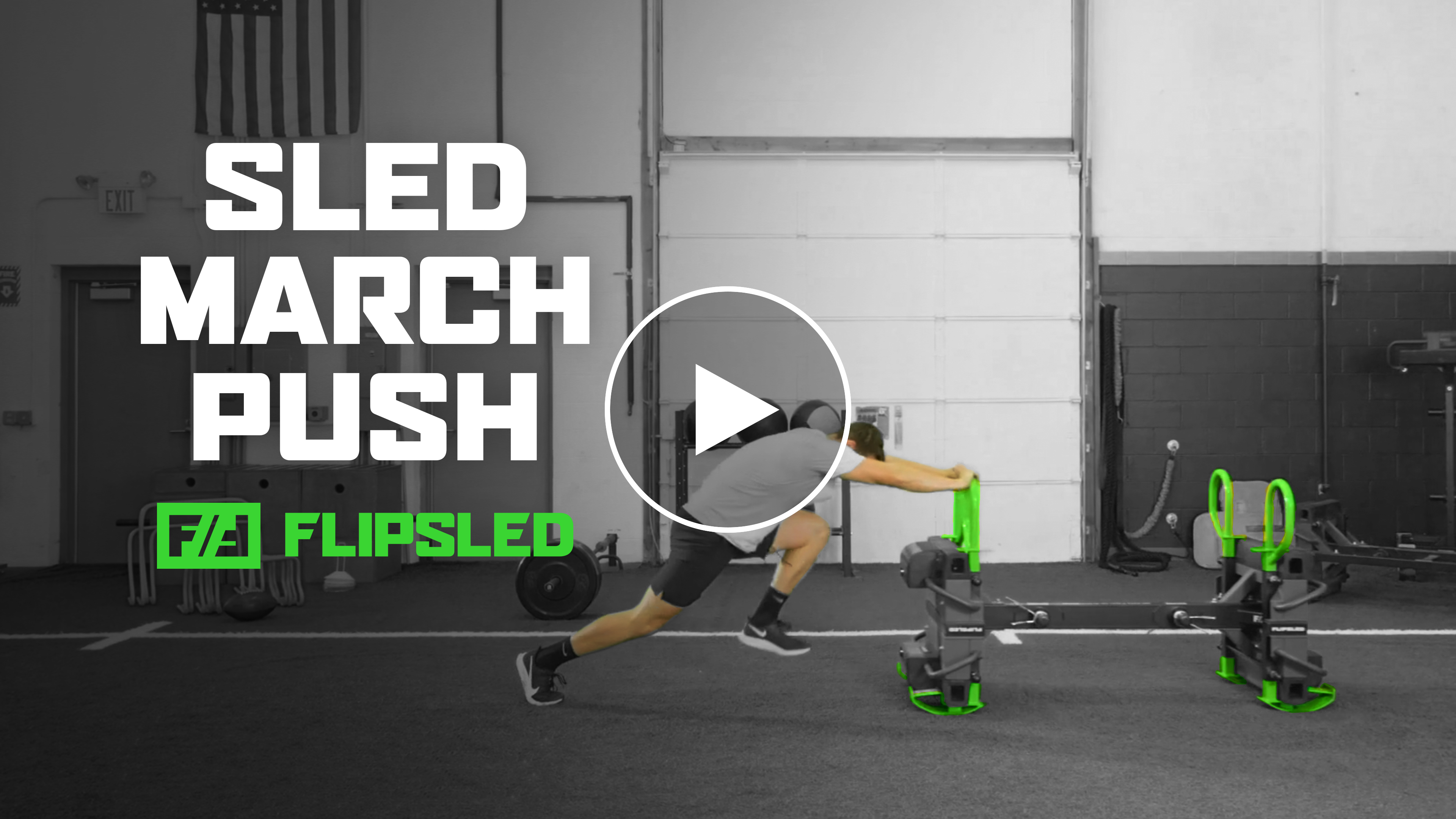 Move of the Week: Sled March Push